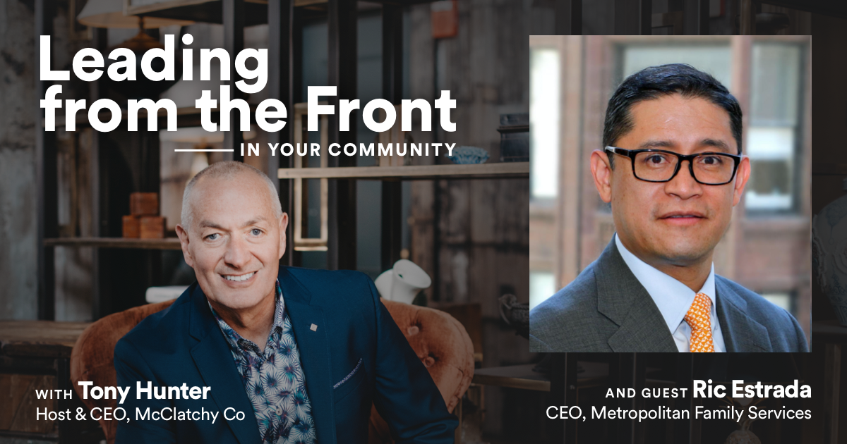 Leading From the Front: In Your Community with Ric Estrada