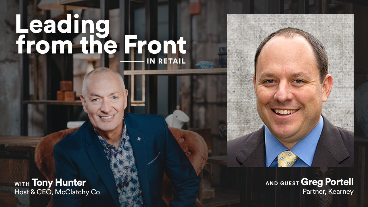 Leading From the Front: In Retail with Greg Portell
